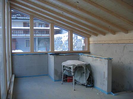 anbau wellnessanlage bellavita beim hotel bellavista zermatt. Black Bedroom Furniture Sets. Home Design Ideas